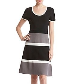 Anne Klein Colorblock Dress