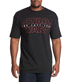 Mad Engine Men's Big & Tall The Last Jedi Graphic Tee