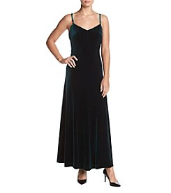 Calvin Klein Velvet Maxi Dress