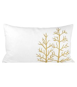 The Pomeroy Collection Winter Glitter Decorative Pillow