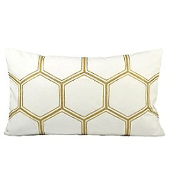 The Pomeroy Collection Hex Decorative Pillow