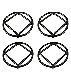 The Pomeroy Collection Lex Set of 4 Round Trivets