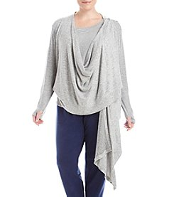 KN Karen Neuburger Plus Size Knit Sweater