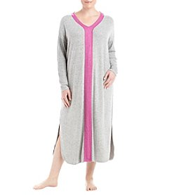 KN Karen Neuburger Plus Size Knit Maxi Nightgown