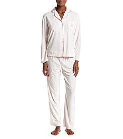 Jasmine Rose Breast Cancer Awareness Pajama Set