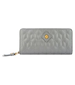 Anne Klein Slim Zip Around Wallet