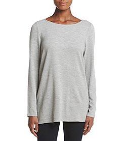 Chelsea & Theodore Scoop Neck Top