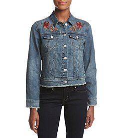 Vintage America Blues Sandy Embroidered Denim Jacket