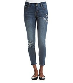 Ruff Hewn Embroidered Skinny Jeans