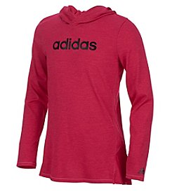 adidas Girls' 2T-6X Hustle Your Bustle Hoodie