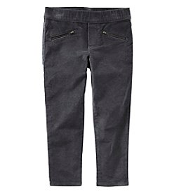 Oshkosh B'Gosh Girls' 4-8 Velvet Pants