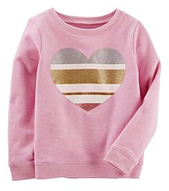 Oshkosh B'Gosh Girls' 4-8 Long Sleeve Jersey Top
