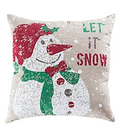 The Pomeroy Collection Snowfall Decorative Pillow
