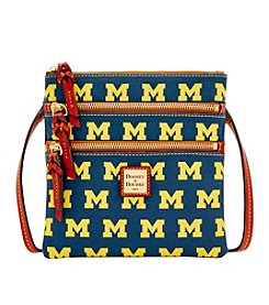 Dooney & Bourke® NCAA® Michigan Wolverines Triple Zip Crossbody