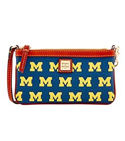 Dooney & Bourke NCAA® Michigan Wolverines Large Slim Wristlet