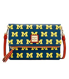Dooney & Bourke® NCAA® Michigan Wolverines Foldover Crossbody