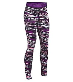 Under Armour Girls' 7-16 HeatGear® Armour Printed Leggings