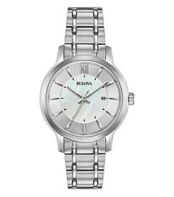 Bulova Women's Classics Collection Stainless Bracelet Watch