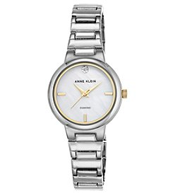 Anne Klein Diamond Dial Bracelet Watch
