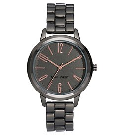 Nine West Women's Two-Tone Bracelet Watch