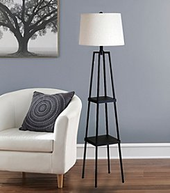 Catalina Lighting Sawyer Etagere Floor Lamp
