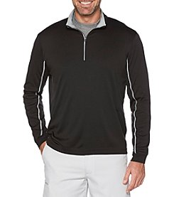 PGA Tour Quarter Zip Knit Fleec Top