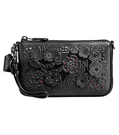 COACH NOLITA WRISTLET WITH TEA ROSE TOOLING