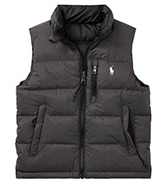 Polo Ralph Lauren Boys' 2T-20 Reversible Outerwear Vest