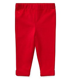 Polo Ralph Lauren Girls' 2T-16 Bow Back Leggings