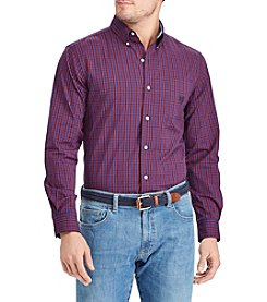 Chaps Men's Easy Care Stretch Button Down Shirt