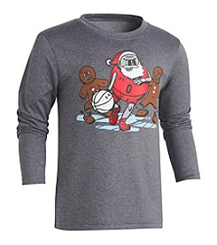 Under Armour Boys' 2T-7 Long Sleeve Breakaway Santa Shirt