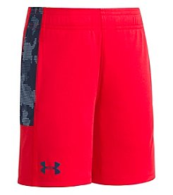 Under Armour Boys' 2T-7 Utility Camo UA Stunt Shorts