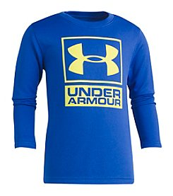 Under Armour Boys' 4-7 Long Sleeve Waffle Crew Shirt