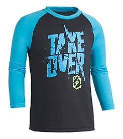 Under Armour Boys' 2T-7 Long Sleeve Take Over Shirt