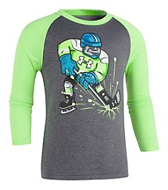Under Armour Boys' 2T-4T Long Sleeve Hockey Player Shirt