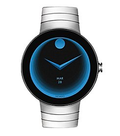 Movado Swiss Connect Stainless Steel Bracelet Smart Watch 46.5 Mm