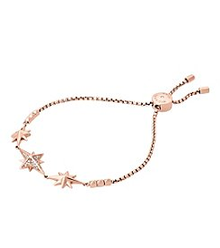 Michael Kors Rose Goldtone Star Bracelet