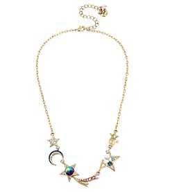 Betsey Johnson Goldtone Star Necklace