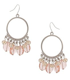 Erica Lyons Make 'Em Blush Drop Earrings