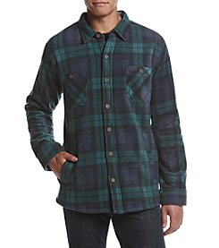 Weatherproof Vintage Men's Plaid Fleece-Liined Jacket