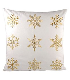 The Pomeroy Collection White Christmas Decorative Pillow