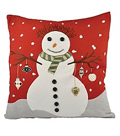 The Pomeroy Collection Snowman Decorative Pillow