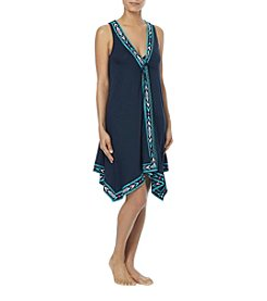 Coco Reef Southwestern Pattern Trim Cover-Up Dress