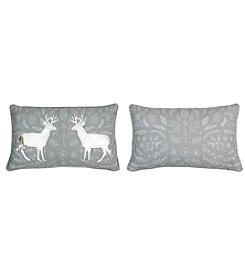 Reversible Colton Deer Decorative Pillow