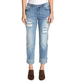 Ruff Hewn Painted Girlfriend Jeans