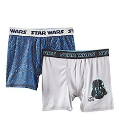 Star Wars Boys' 6-10 2 Pack Athletic Boxer Briefs