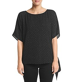 MICHAEL Michael Kors Petites' Star Bright Tie Top