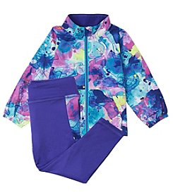 adidas Baby Girls' All I Do Is Win Jacket and Pants Set