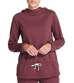 Weatherproof Vintage Cowl Neck Hooded Sweatshirt