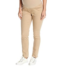 Three Seasons Maternity Natural Belly Band Skinny Jeans